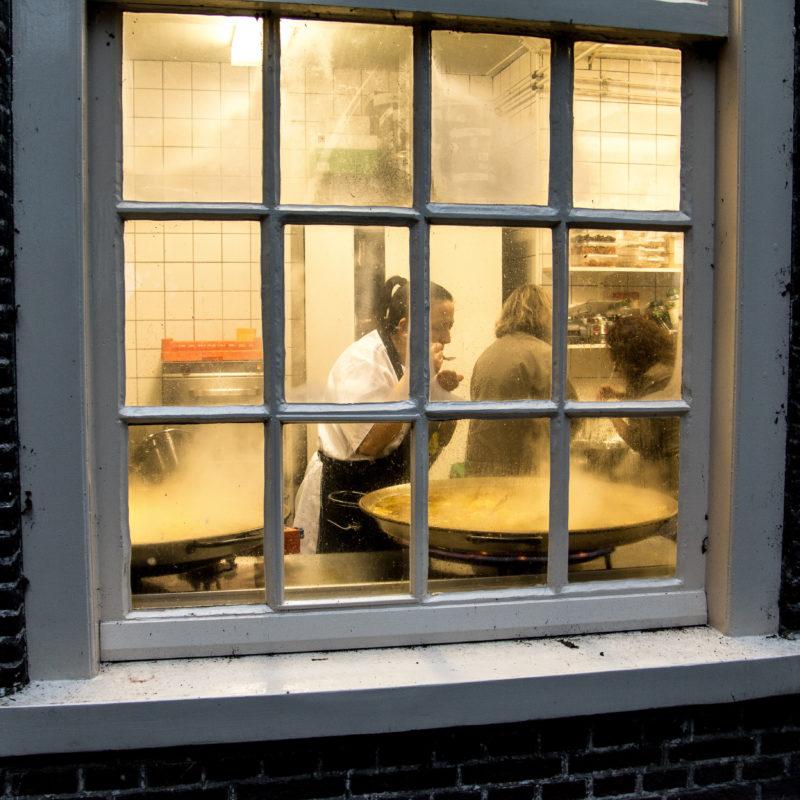 Foto Kijkje in de keuken