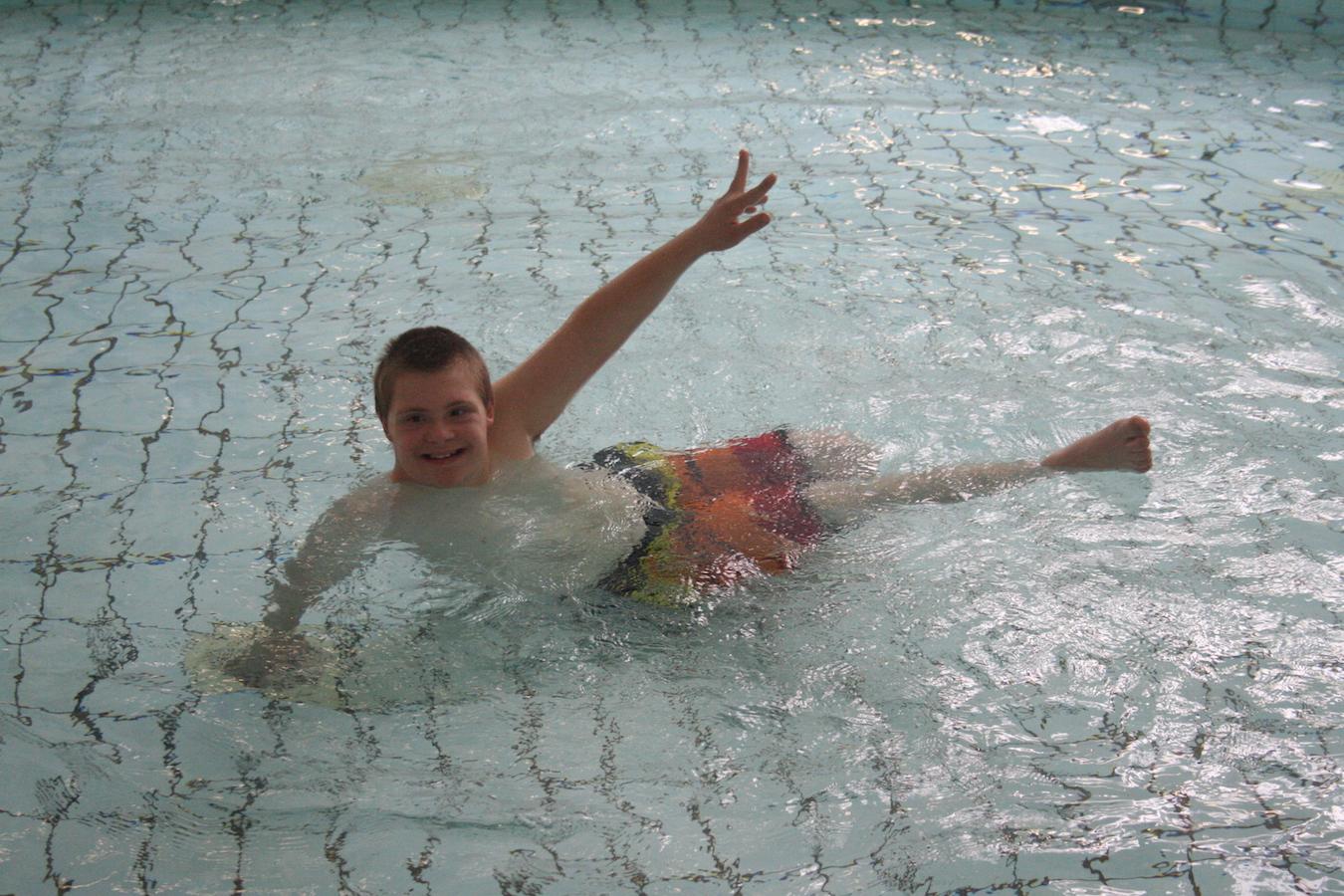 Foto Zwemles bij Zwembad den Hommel