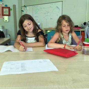 Leerlingen Happy Kids maken eigen verhaal