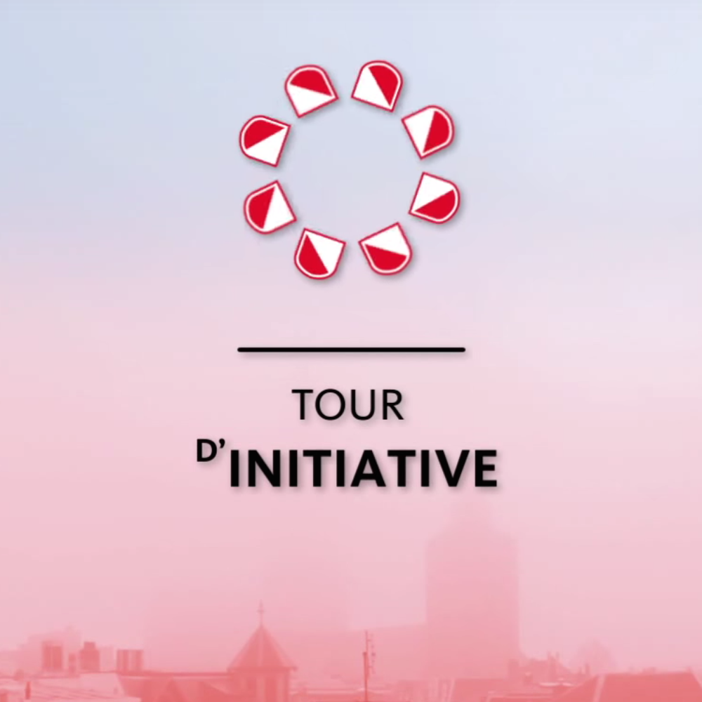 Tour d'initiatives van de gemeente Utrecht