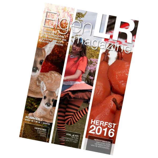 Vier verhalen in EigenLR magazine